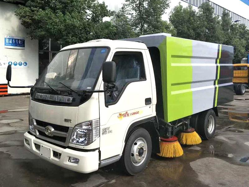 Foton CLW50586SL4  3000L Road Sweeper Truck