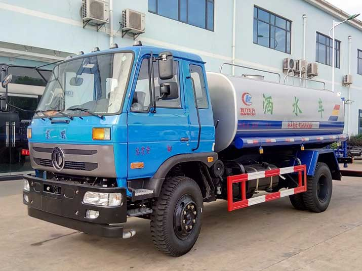 Dongfeng 12000L CLW5165GSSE4 Water Tank Truck