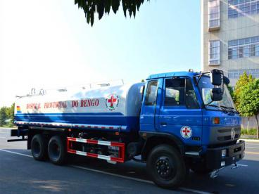 Two Units Water Tanker Trucks will be exported to Angola on 1st August, 2016