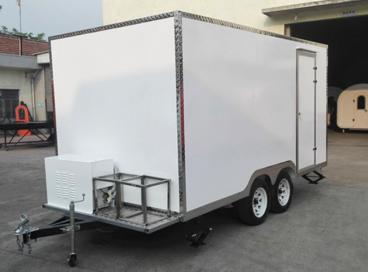 My Bahrain customer's food trailer